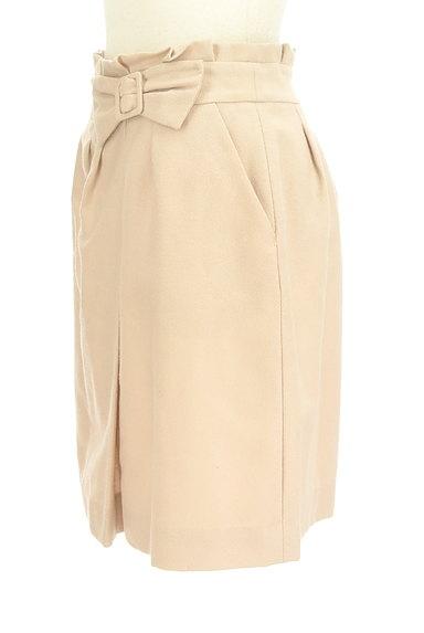 PROPORTION BODY DRESSING(プロポーションボディ ドレッシング)の古着「リボンベルト風スエードスカート(スカート)」大画像3へ