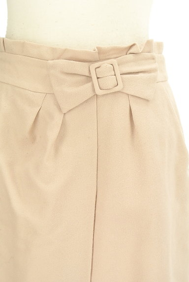 PROPORTION BODY DRESSING(プロポーションボディ ドレッシング)の古着「リボンベルト風スエードスカート(スカート)」大画像4へ