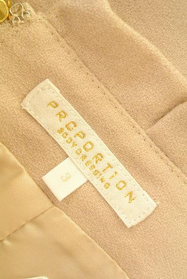 PROPORTION BODY DRESSING(プロポーションボディ ドレッシング)の古着「リボンベルト風スエードスカート(スカート)」大画像6へ