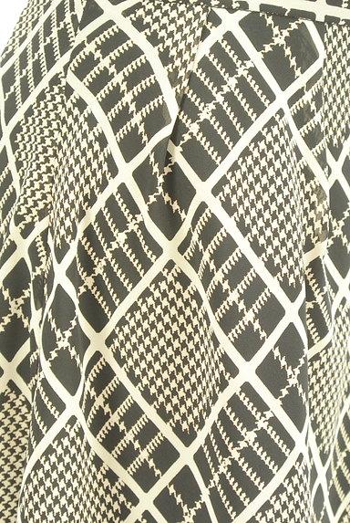 PROPORTION BODY DRESSING(プロポーションボディ ドレッシング)の古着「チェック柄シフォンフレアスカート(スカート)」大画像5へ