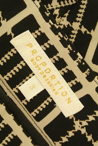 PROPORTION BODY DRESSING(プロポーションボディ ドレッシング)の古着「チェック柄シフォンフレアスカート(スカート)」大画像6へ