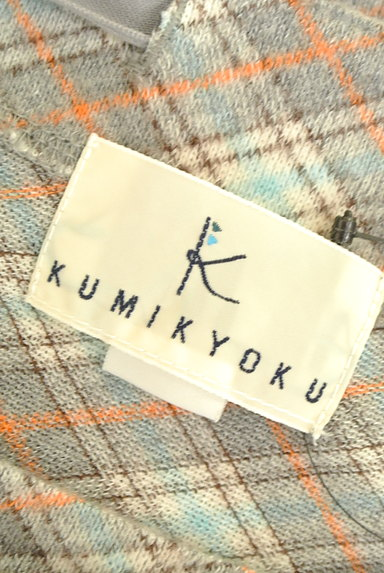 KUMIKYOKU(組曲)の古着「襟ぐりリボン七分袖カットソー(カットソー・プルオーバー)」大画像6へ