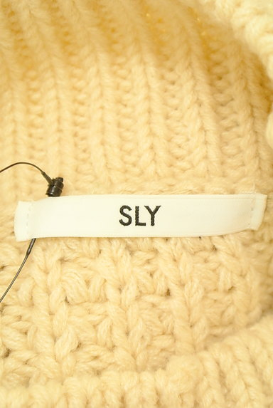 SLY(スライ)の古着「ハイネックワイドニット(セーター)」大画像6へ