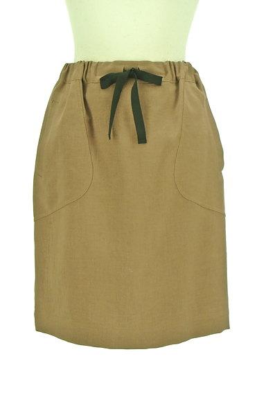 Te chichi(テチチ)の古着「バイカラードローコードスカート(スカート)」大画像1へ
