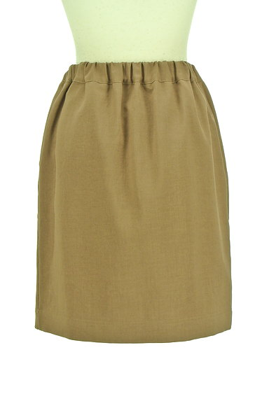 Te chichi(テチチ)の古着「バイカラードローコードスカート(スカート)」大画像2へ