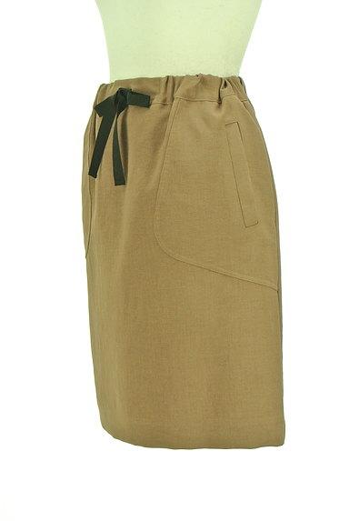 Te chichi(テチチ)の古着「バイカラードローコードスカート(スカート)」大画像3へ