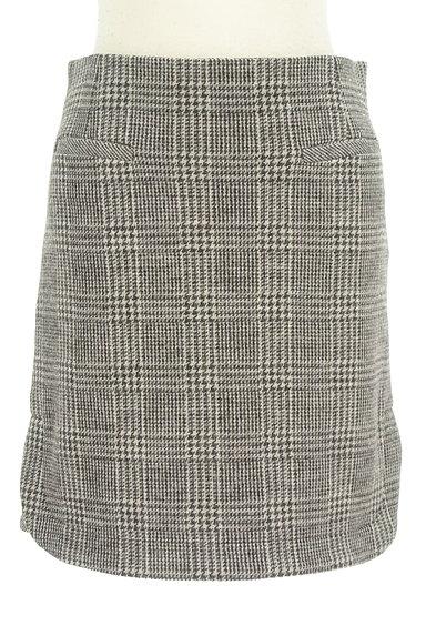 UNTITLED(アンタイトル)の古着「グレンチェック柄ミニスカート(スカート)」大画像1へ