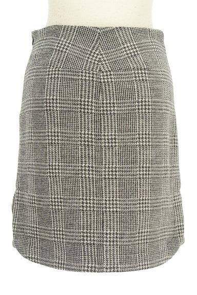 UNTITLED(アンタイトル)の古着「グレンチェック柄ミニスカート(スカート)」大画像2へ