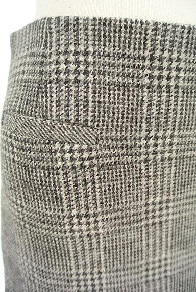 UNTITLED(アンタイトル)の古着「グレンチェック柄ミニスカート(スカート)」大画像4へ