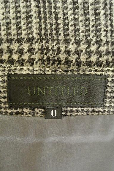 UNTITLED(アンタイトル)の古着「グレンチェック柄ミニスカート(スカート)」大画像6へ