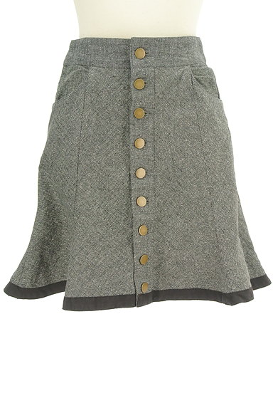 deicy(デイシー)の古着「フロントボタンフレアスカート(ミニスカート)」大画像1へ