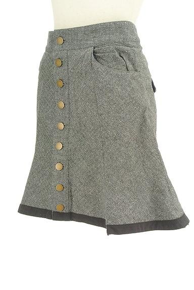 deicy(デイシー)の古着「フロントボタンフレアスカート(ミニスカート)」大画像3へ