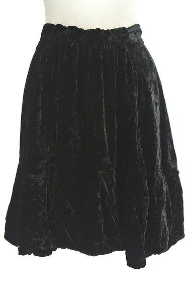 deicy(デイシー)の古着「膝上丈ベロアバルーンスカート(ミニスカート)」大画像1へ