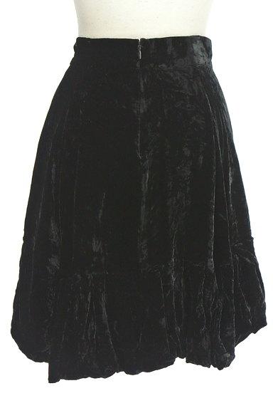 deicy(デイシー)の古着「膝上丈ベロアバルーンスカート(ミニスカート)」大画像2へ