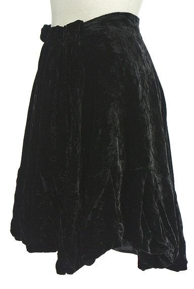 deicy(デイシー)の古着「膝上丈ベロアバルーンスカート(ミニスカート)」大画像3へ