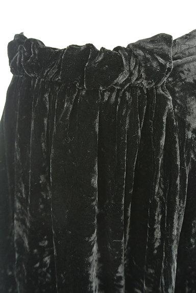 deicy(デイシー)の古着「膝上丈ベロアバルーンスカート(ミニスカート)」大画像4へ