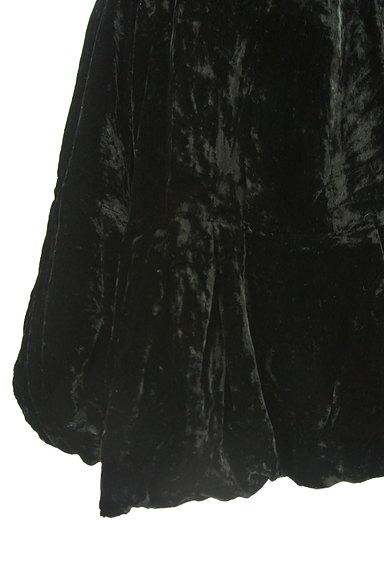 deicy(デイシー)の古着「膝上丈ベロアバルーンスカート(ミニスカート)」大画像5へ