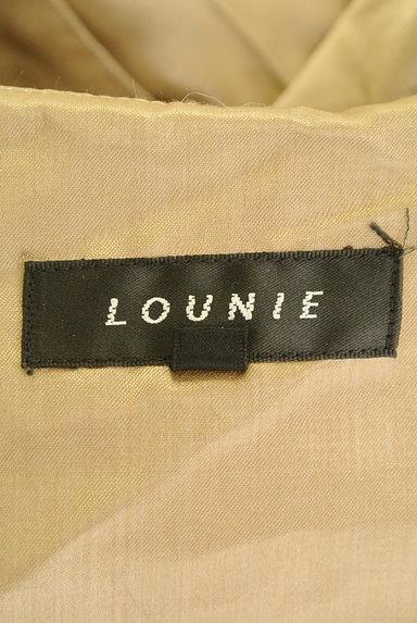 LOUNIE(ルーニィ)の古着「ラメドット柄シアーワンピース(ワンピース・チュニック)」大画像6へ