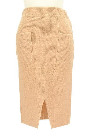MOUSSY(マウジー)の古着「スリットニットタイトスカート(スカート)」大画像1へ