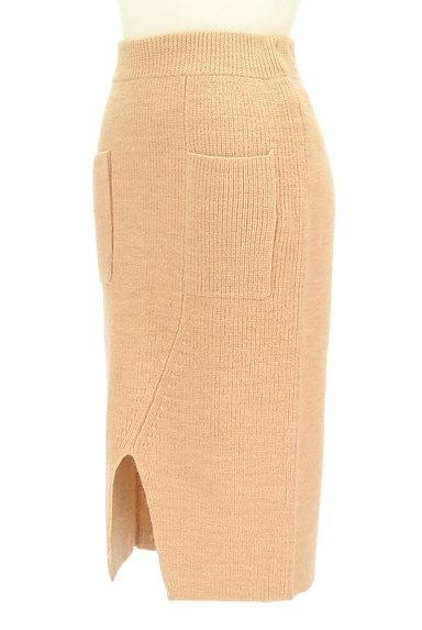 MOUSSY(マウジー)の古着「スリットニットタイトスカート(スカート)」大画像3へ