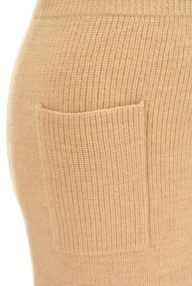 MOUSSY(マウジー)の古着「スリットニットタイトスカート(スカート)」大画像4へ