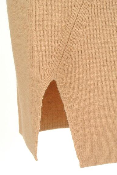 MOUSSY(マウジー)の古着「スリットニットタイトスカート(スカート)」大画像5へ
