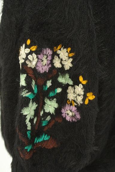 SLY(スライ)の古着「七分袖花刺繍ファーニット(ニット)」大画像4へ