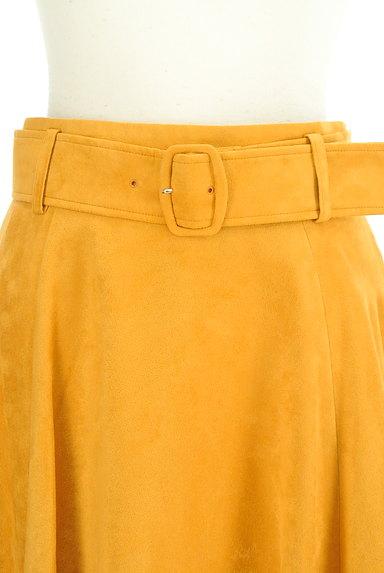 Apuweiser riche(アプワイザーリッシェ)の古着「ベルト付き膝下丈フレアスカート(スカート)」大画像4へ