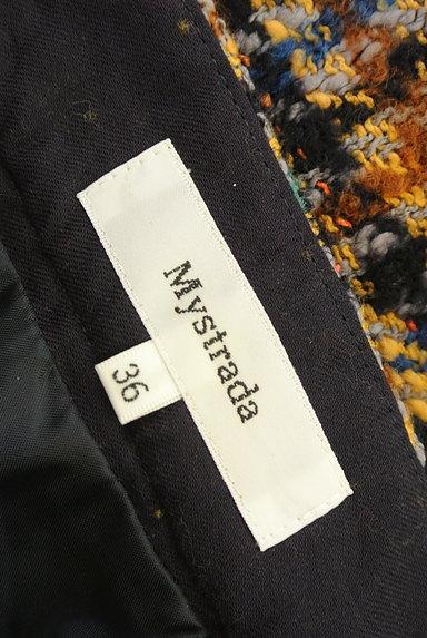 Mystrada(マイストラーダ)の古着「チェック柄ツイードスカート(ミニスカート)」大画像6へ