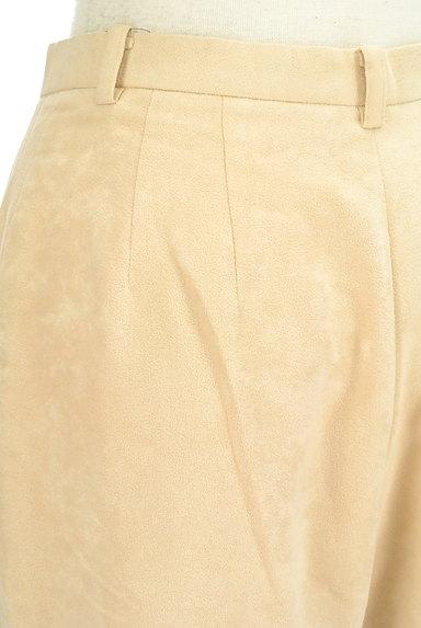 NOLLEY'S(ノーリーズ)の古着「スエードストレートパンツ(パンツ)」大画像5へ