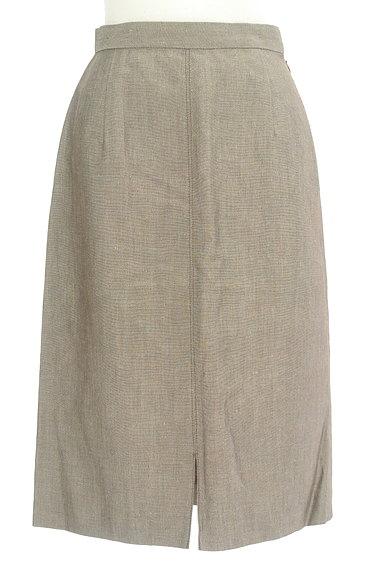 NOLLEY'S(ノーリーズ)の古着「前スリットリネンスカート(スカート)」大画像1へ