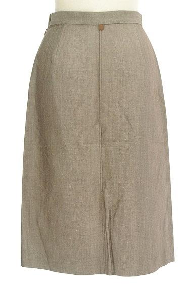 NOLLEY'S(ノーリーズ)の古着「前スリットリネンスカート(スカート)」大画像2へ