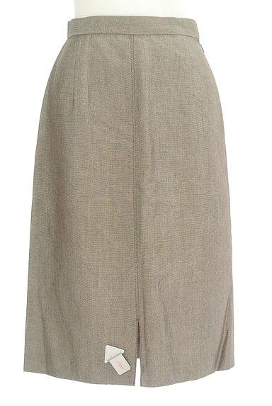 NOLLEY'S(ノーリーズ)の古着「前スリットリネンスカート(スカート)」大画像4へ