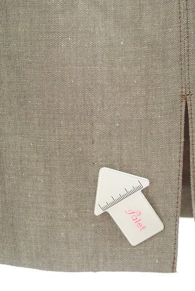 NOLLEY'S(ノーリーズ)の古着「前スリットリネンスカート(スカート)」大画像5へ