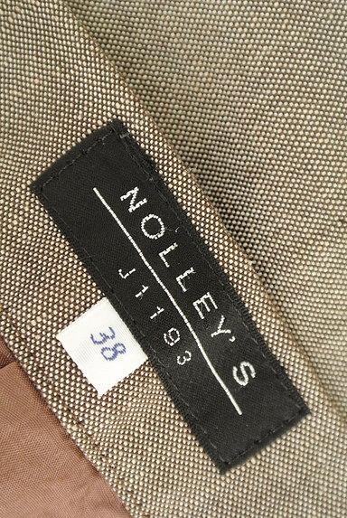 NOLLEY'S(ノーリーズ)の古着「前スリットリネンスカート(スカート)」大画像6へ