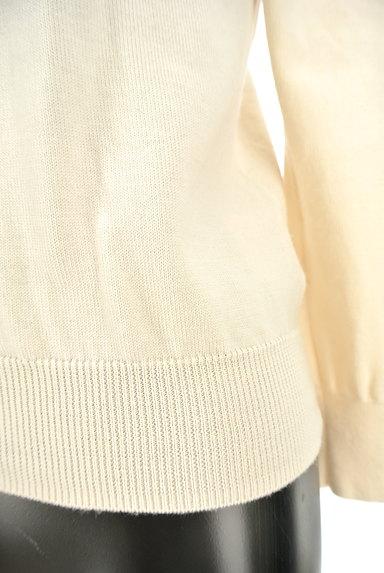 INDIVI(インディヴィ)の古着「マットゴールドボタンカーディガン(カーディガン・ボレロ)」大画像5へ