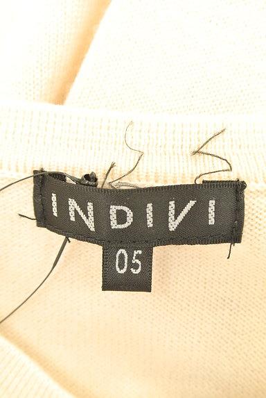 INDIVI(インディヴィ)の古着「マットゴールドボタンカーディガン(カーディガン・ボレロ)」大画像6へ