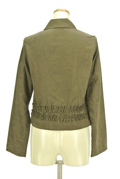 OZOC(オゾック)の古着「裾フリルミリタリーシャツ(カジュアルシャツ)」大画像2へ
