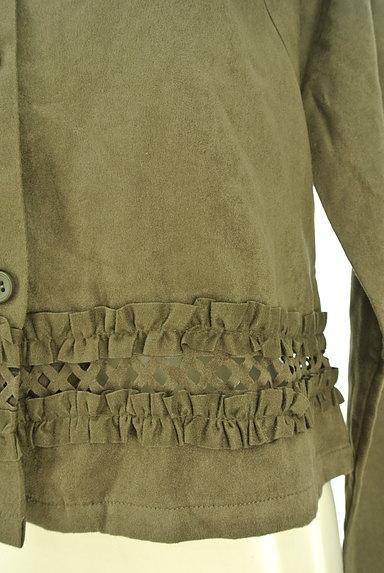 OZOC(オゾック)の古着「裾フリルミリタリーシャツ(カジュアルシャツ)」大画像5へ