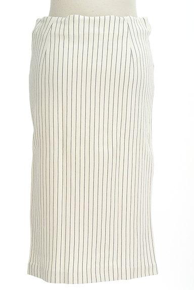 iCB(アイシービー)の古着「膝下丈ストライプ柄タイトスカート(スカート)」大画像2へ