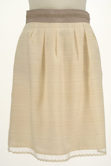 MISCH MASCH(ミッシュマッシュ)の古着「ウエストブレードラメボーダースカート(スカート)」大画像1へ