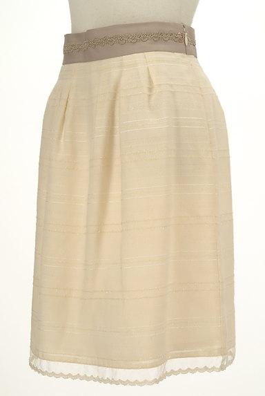 MISCH MASCH(ミッシュマッシュ)の古着「ウエストブレードラメボーダースカート(スカート)」大画像3へ