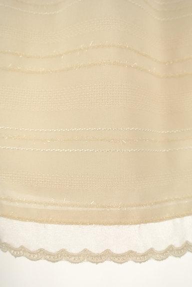 MISCH MASCH(ミッシュマッシュ)の古着「ウエストブレードラメボーダースカート(スカート)」大画像5へ
