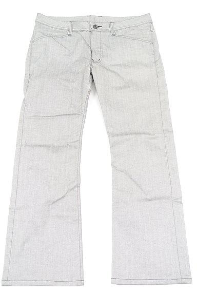 MEN'S BIGI(メンズビギ)の古着「ヘリンボーンストレートパンツ(パンツ)」大画像1へ