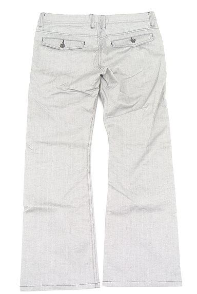 MEN'S BIGI(メンズビギ)の古着「ヘリンボーンストレートパンツ(パンツ)」大画像2へ