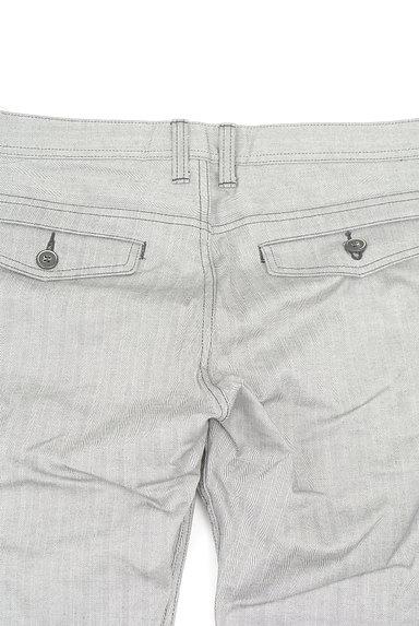 MEN'S BIGI(メンズビギ)の古着「ヘリンボーンストレートパンツ(パンツ)」大画像4へ