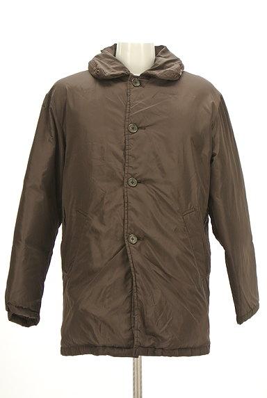 MEN'S BIGI(メンズビギ)の古着「襟付きダウンコート(ダウンジャケット・ダウンコート)」大画像1へ