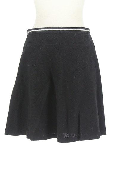 INDIVI(インディヴィ)の古着「ビット金具フレアミニスカート(ミニスカート)」大画像2へ