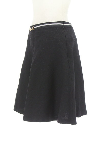 INDIVI(インディヴィ)の古着「ビット金具フレアミニスカート(ミニスカート)」大画像3へ