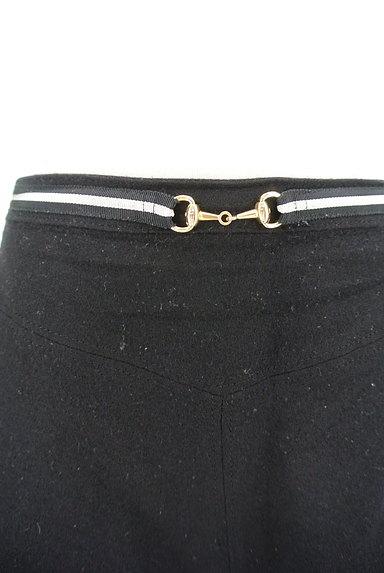 INDIVI(インディヴィ)の古着「ビット金具フレアミニスカート(ミニスカート)」大画像4へ